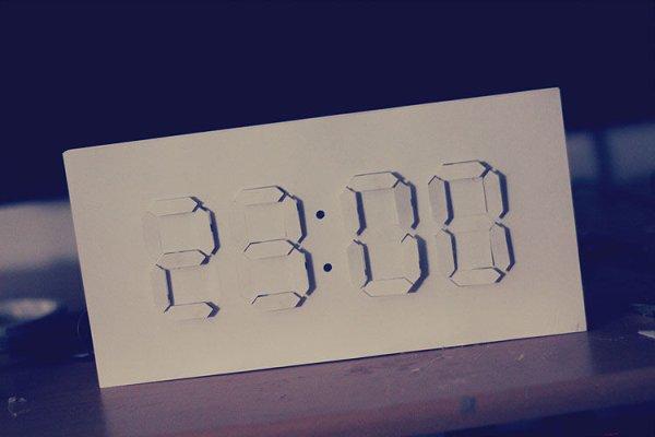 Digital:Analog Clock - Arduino + PaperCraft