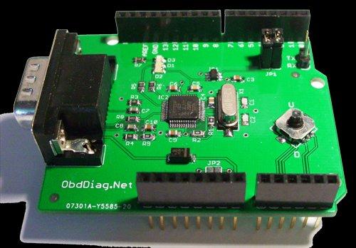 OBDCAN Shield for Arduino