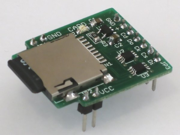 SD Card Breakout for Breadboards