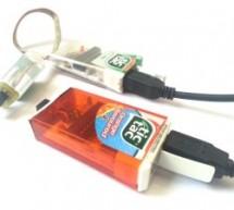 Tic-Tac USBtinyISP Programmer