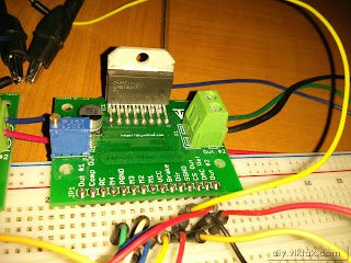 Bipolar Stepper Motor Driver Circuit with LMD18245