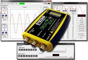 CircuitGear Mini CGM-101 Oscilloscope