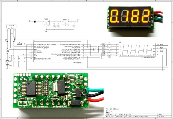 Hacking a cheap LED voltmeter