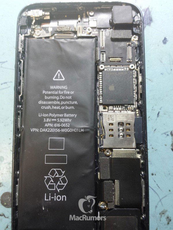 Inside the iPhone 5S and iPhone 5C