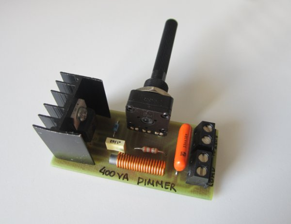 400VA AC Light Dimmer