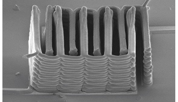 Micro-battery is 3D printed