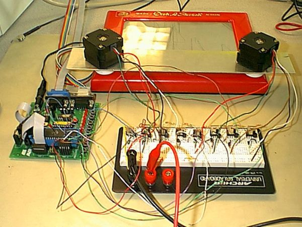 Automatic Etch-A-Sketch Controller