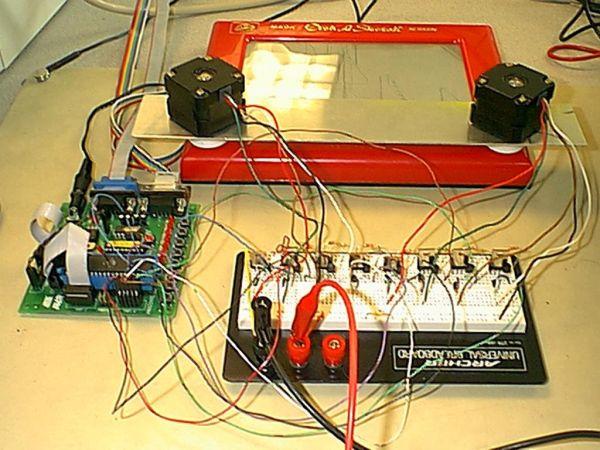Automatic Etch-A-Sketch Controller