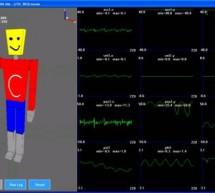 A Motion Capture System Using Accelerometers using AVR Mega32