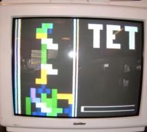 Color Tetris video game using ATMega32