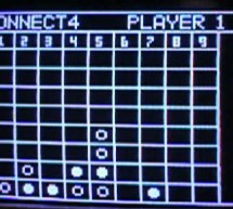 Connect Four with Programmable Infrared Receiver Atmel Mega32