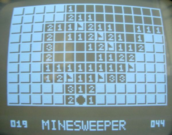 TV Minesweeper Using Atmel MEGA 32