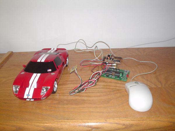 Dual control RC car using Atmel Mega32