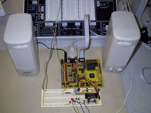 MP3 Player Using Atmel Mega103L