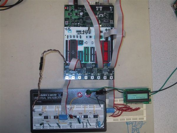 Guitar Special Effects Using Atmega32