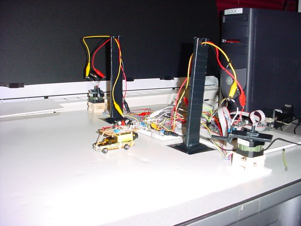 INFRARED TRACKING SYSTEM USING ATMEGA32