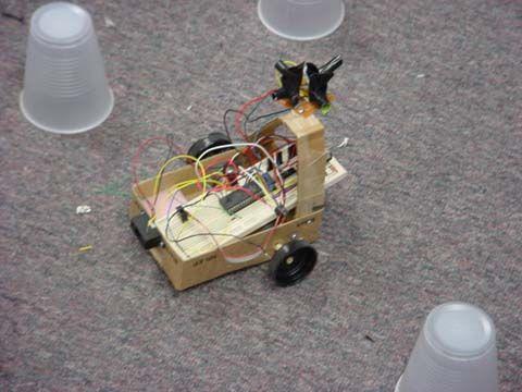 IntelliBOT Using Mega 32 Schemetic