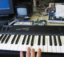 MIDI synthesizer Using Atmega32