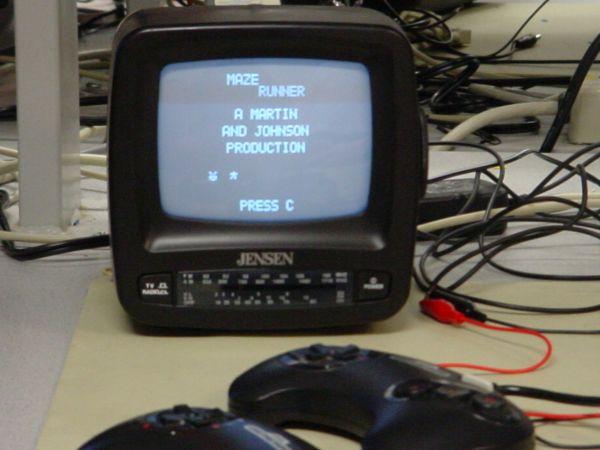 MazeRunner Video Game Using  Atmel ATMega32