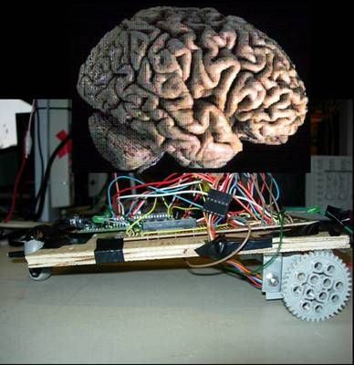 Neural net robot using ATMega32