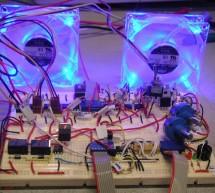 PC temperature control using Atmel Mega32
