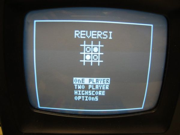 Reversi Video Game Using ATmega32