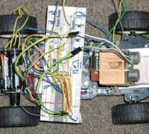 Safety-sensor vehicle using Mega163