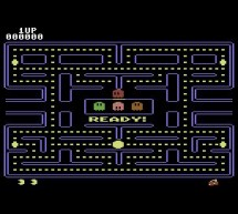 PacMan Video Game Using Atmel AT90S8515 microcontroller