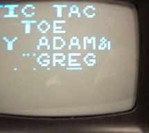 Tic-Tac-Toe on TV Using Atmel Mega163