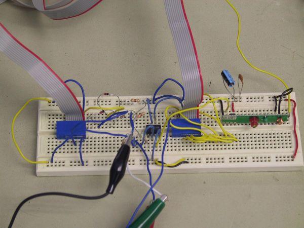 Wireless Drawing Device Using Atmel Mega163