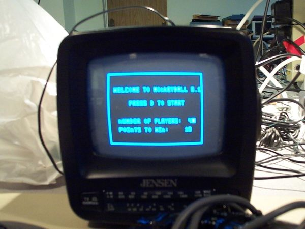 Ball Fight Inspired By MonkeyBall Using Atmel Mega32
