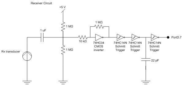Handheld Ultrasonic Rangefinder Using Atmel Mega32