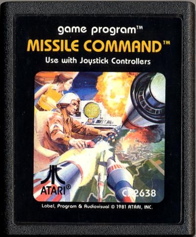 MISSILE COMMAND Using Atmel Mega 32
