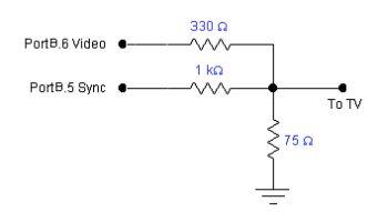 Schematics TV Keypad Interface for Winamp