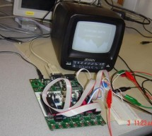 Scorched Earth video game using Atmel Mega32