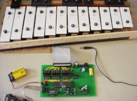 Xylophone Using Mega32
