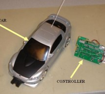 Dual Control R/C Car Using Atmega32