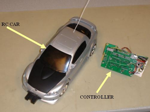 Dual Control R/C Car Using Atmega32