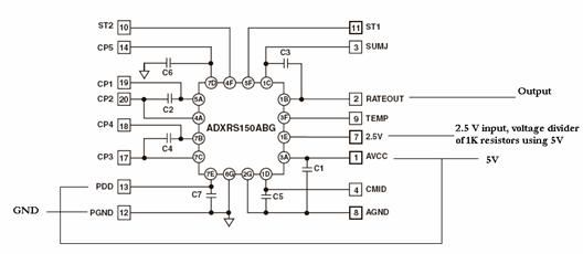 Autonomous Stabilization System For a Coaxial Helicopter using Atmel Mega32 diagram