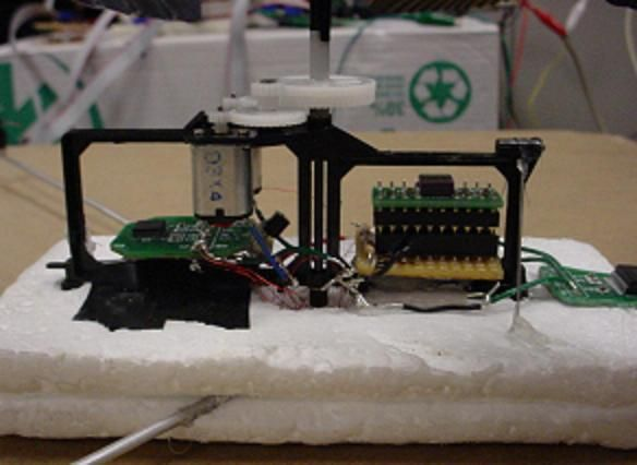 Autonomous Stabilization System For a Coaxial Helicopter using Atmel Mega32