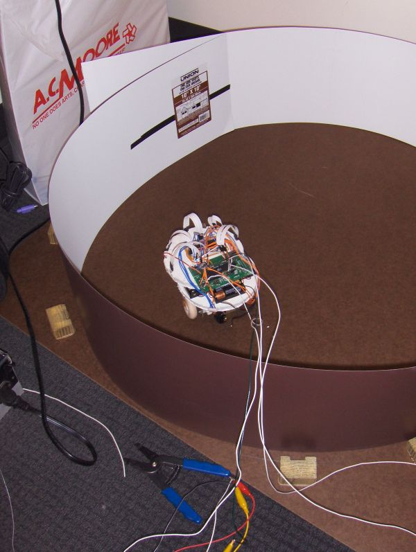 Evolving neural robot Using Atmega32