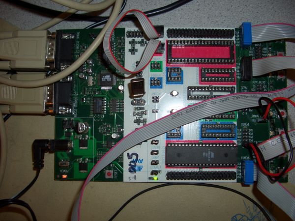 VOICE RECOGNITION SECURITY SYSTEM USING ATEGA32