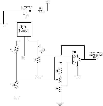 Flat Bed Scanner Using Microcontroller Schemetic