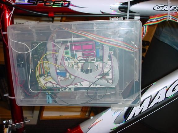 GoConn Bicycle Computer Using Atmega 32