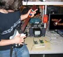 Guitar Synthesizer and Game Using Atmega32