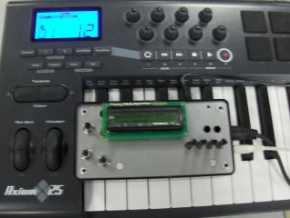 MCU MIDI synthesizer using Atmega32