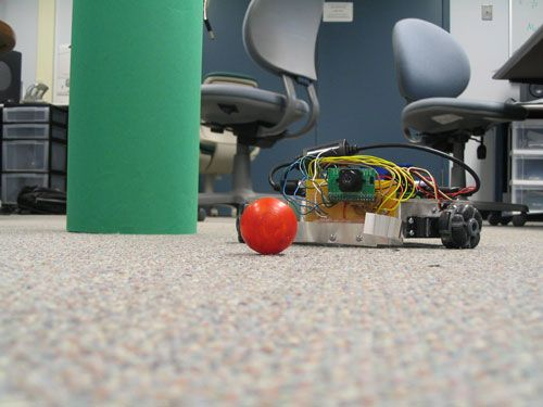 SearchBot Using Atmel Mega32