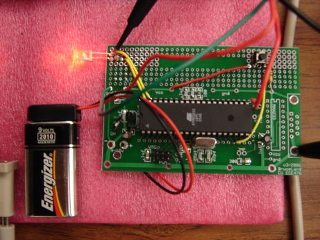 SecureLED: Better Access Control Using ATMega32