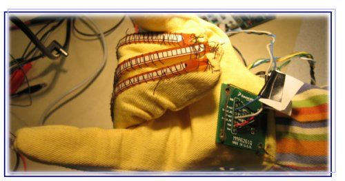 Sign language coach Using Atmega32L