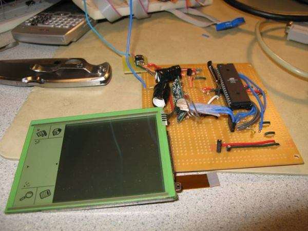Touch Screen Controlled R/C Car Using Atmel Mega32